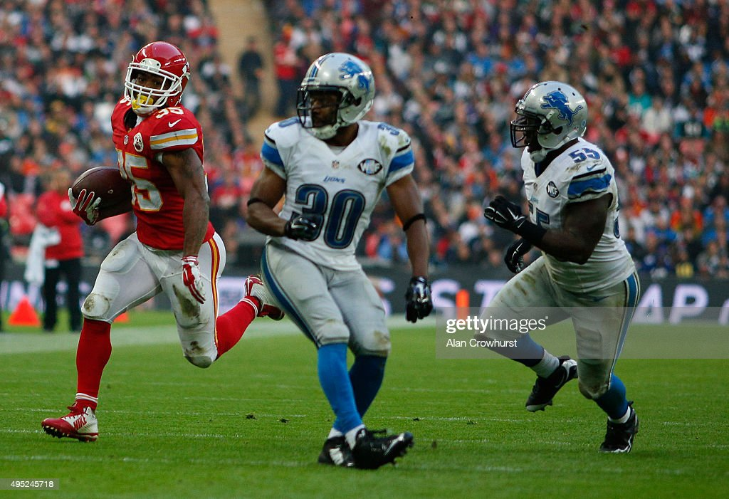 Kansas City Chiefs v Detroit Lions : News Photo