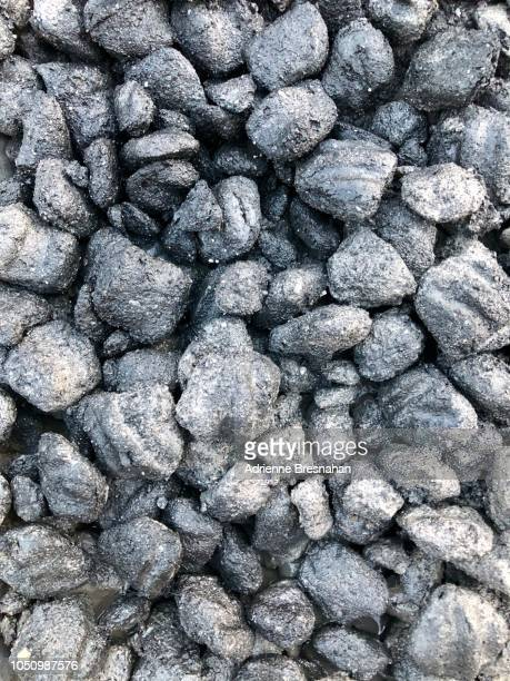 Charcoal Briquettes Full Frame