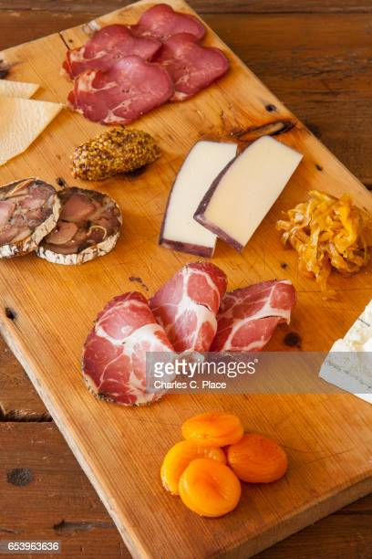 charcuterie and cheese board - charcuterie board stock pictures, royalty-free photos & images