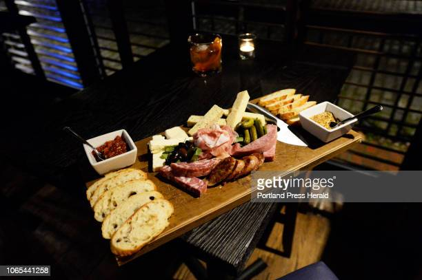 Charcuterie board at Independent Ice Company in Portland Tuesday November 13 2018