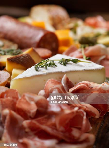 charcuterie board - charcuterie board stock pictures, royalty-free photos & images