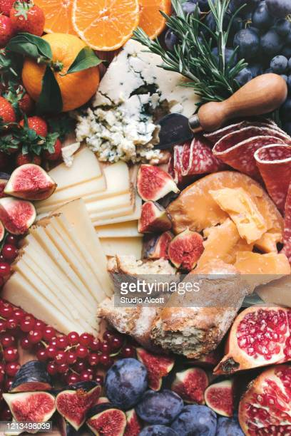 charcuterie plate - french food stock pictures, royalty-free photos & images