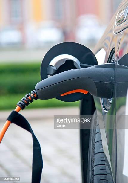 Cargo negro electric car