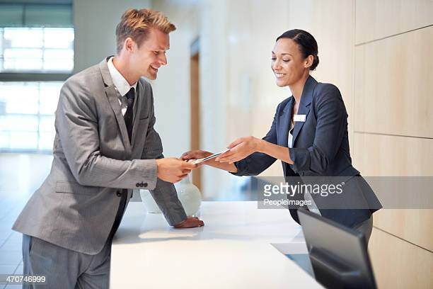 charge it to my current account - hotel lobby stock pictures, royalty-free photos & images
