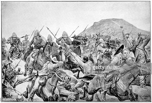 Charge of the 5th Lancers at Elandslaagte 2nd Boer War 21 November 1899 British cavalry pursuing the retreating Boers The British forces were under...