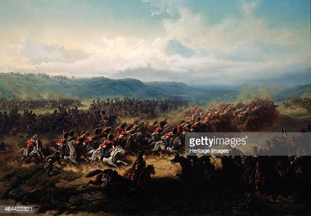'Charge of the English Light Brigade at the Battle of Balaclava on 25 October 1854' 19th century Lord Raglan gave the order for the disastrous...