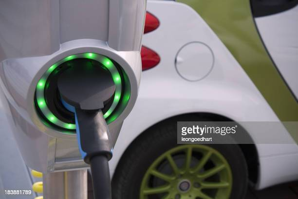 Charging point for electric and hybrid car