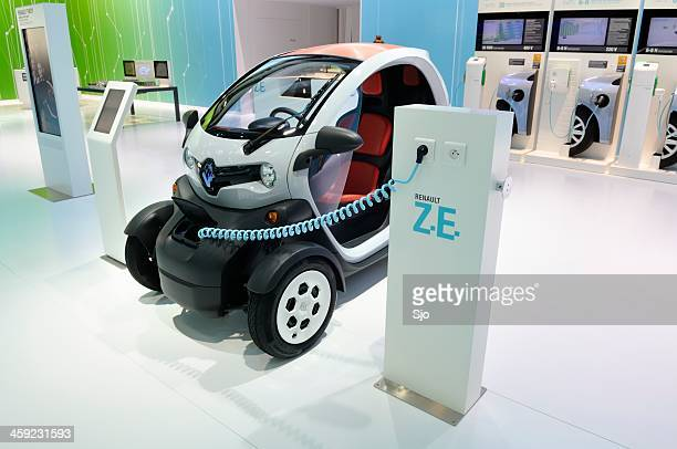 Charging Renault Twizy