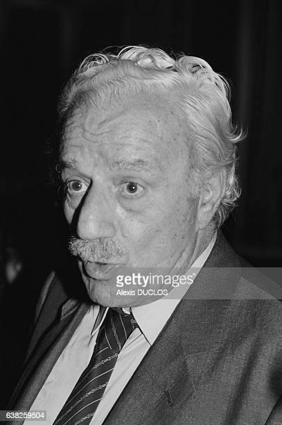 Charilaos Florakis leader du Parti Communiste grec à Athènes Grèce le 25 mai 1985