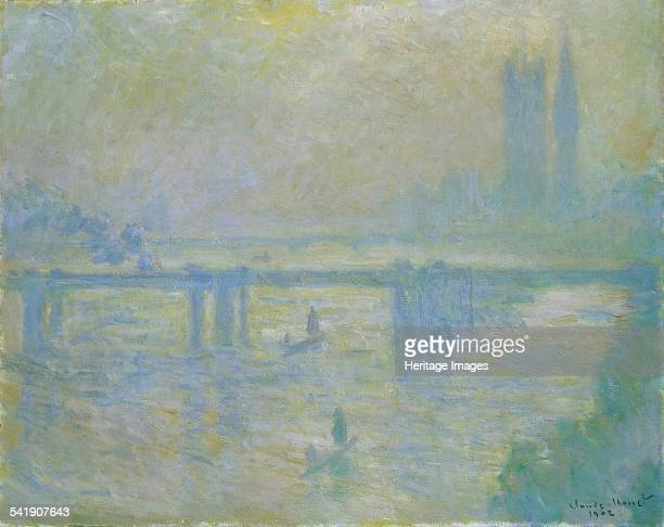 Charing Cross Bridge' 1902 Artist Claude Monet