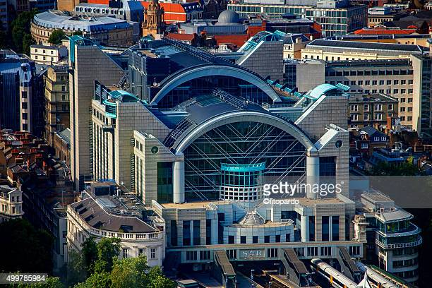 Charing Cross railway station aerial view