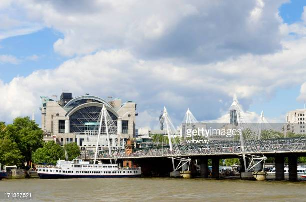 charing cross station and r.s. hispaniola - hispaniola stock photos and pictures