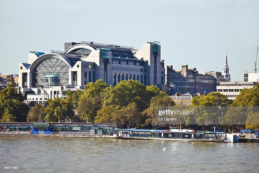 Charing Cross Station Victoria Embankment London Stock Photo Getty