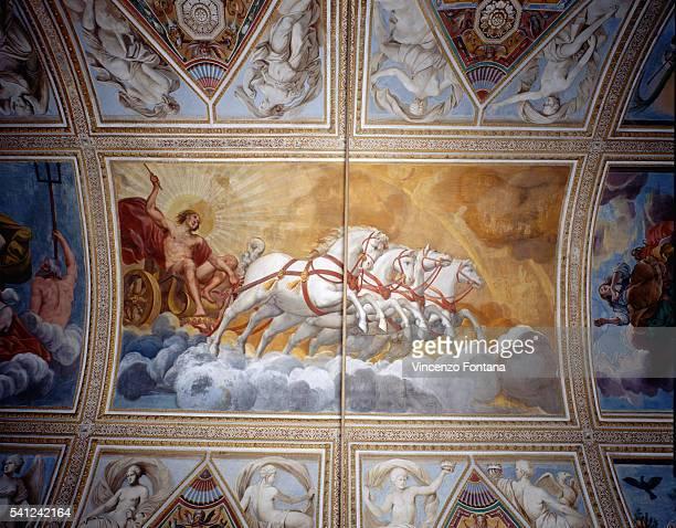 Chariot of the Sun Driven by Apollo by Antonio Maria Viani