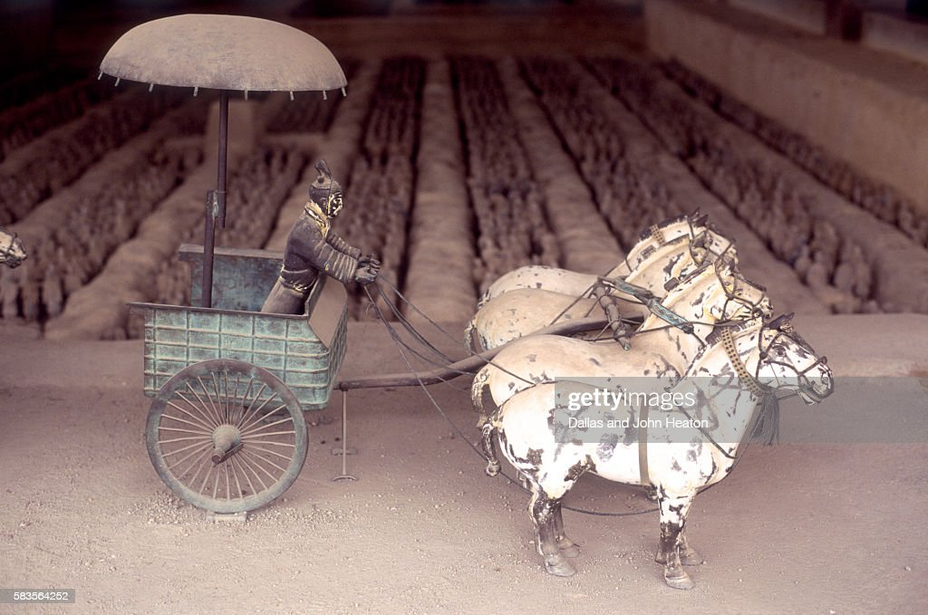 Chariot, Shenzen, Guangdong Province, China : Stock Photo