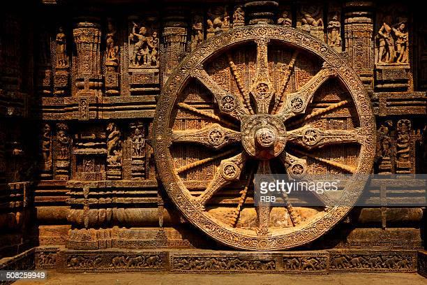 Chariot Wheel at Sun Temple, Konark