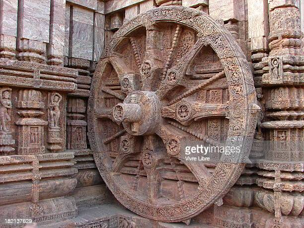 A chariot wheel