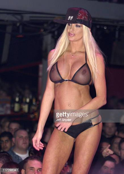 Charis Boyle Miss February 2003 during Miss February 2003 Issue Release Party at PLAYBOY Party Fashion Show in Washington DC