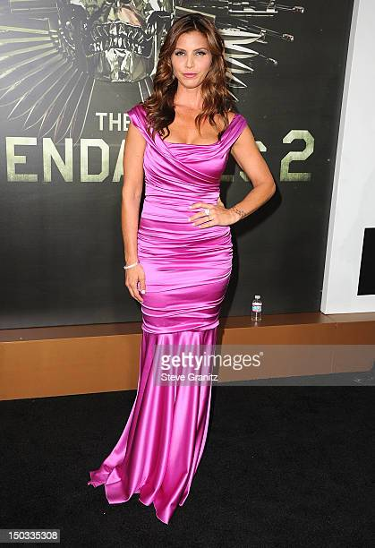 159 Charisma Carpenter Expendables 2 Photos And Premium High Res Pictures Getty Images