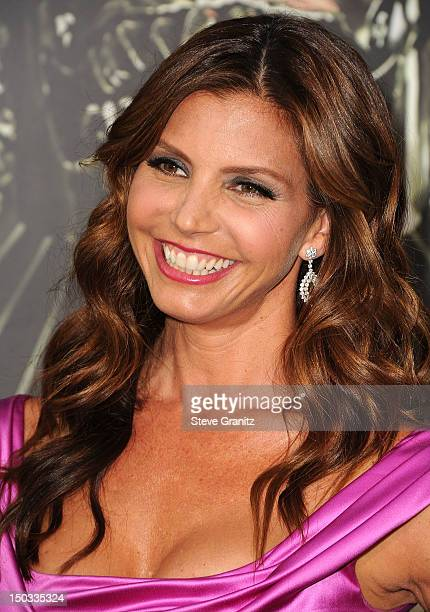 Charisma Carpenter arrives at the The Expendables 2 Los Angeles Premiere at Grauman's Chinese Theatre on August 15 2012 in Hollywood California