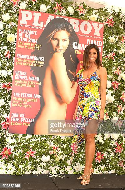 Charisma Carpenter at the Playmate of the Year 2004 presentation Carmella DeCesare was named Playboy's Playmate of the Year 2004 at the Playboy...