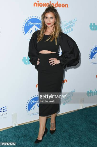 Charisma Carpenter attends the 9th Annual Thirst Gala at The Beverly Hilton Hotel on April 21 2018 in Beverly Hills California