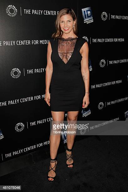 Charisma Carpenter attends The Paley Center for Media presentation of 'OJ The Trial Of The Century Twenty Years Later' at The Paley Center for Media...