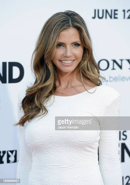Charisma Carpenter attends the Premiere of Columbia Pictures' 'This Is The End' at Regency Village Theatre on June 3 2013 in Westwood California