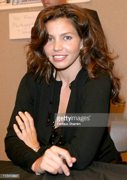Charisma Carpenter during London Film Comic Convention June 25 2005 at Earls Court 2 in London Great Britain