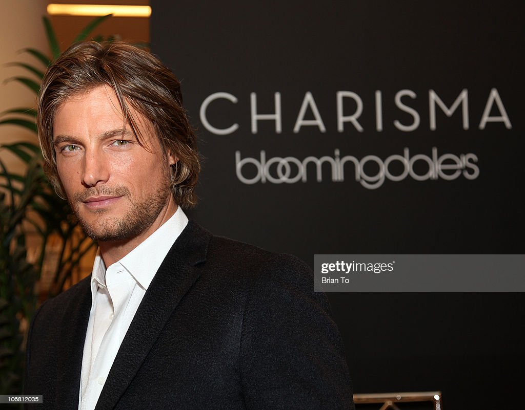 Charisma Spokesperson Gabriel Aubry Promotes New Home Collection At Bloomingdale's
