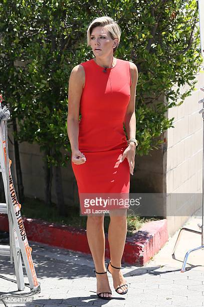 Charissa Thompson is seen on July 13 2015 in Los Angeles California