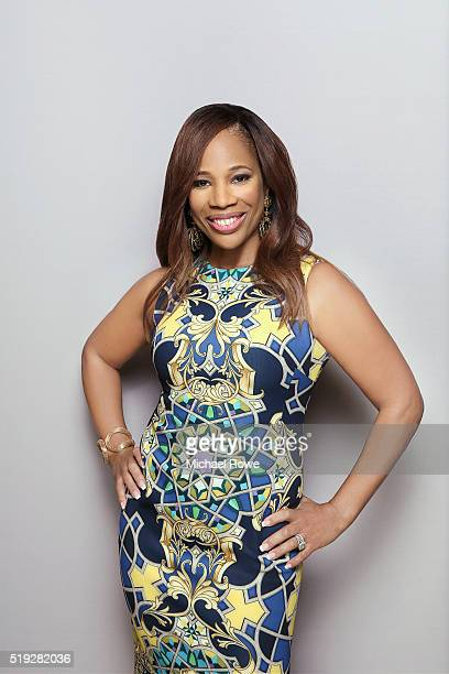 Charisse Jackson Jordan is photographed at the 2016 Black Women in Hollywood Luncheon for Essencecom on February 25 2016 in Los Angeles California