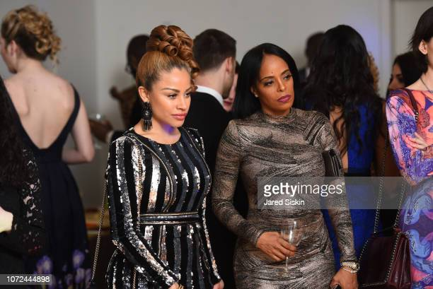Charisse Mills and Florence Watson attend Vision 2020 BALL By The Rescue Project / Haven Hands Inc on December 12 2018 in New York City