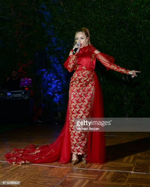 Charisse Mills preforms at 'For the Love of Influences' #ValentineBash on February 3 2018 in Los Angeles California