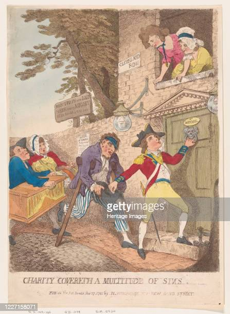 Charity Covereth a Multitude of Sins November 27 1781 Artist Thomas Rowlandson