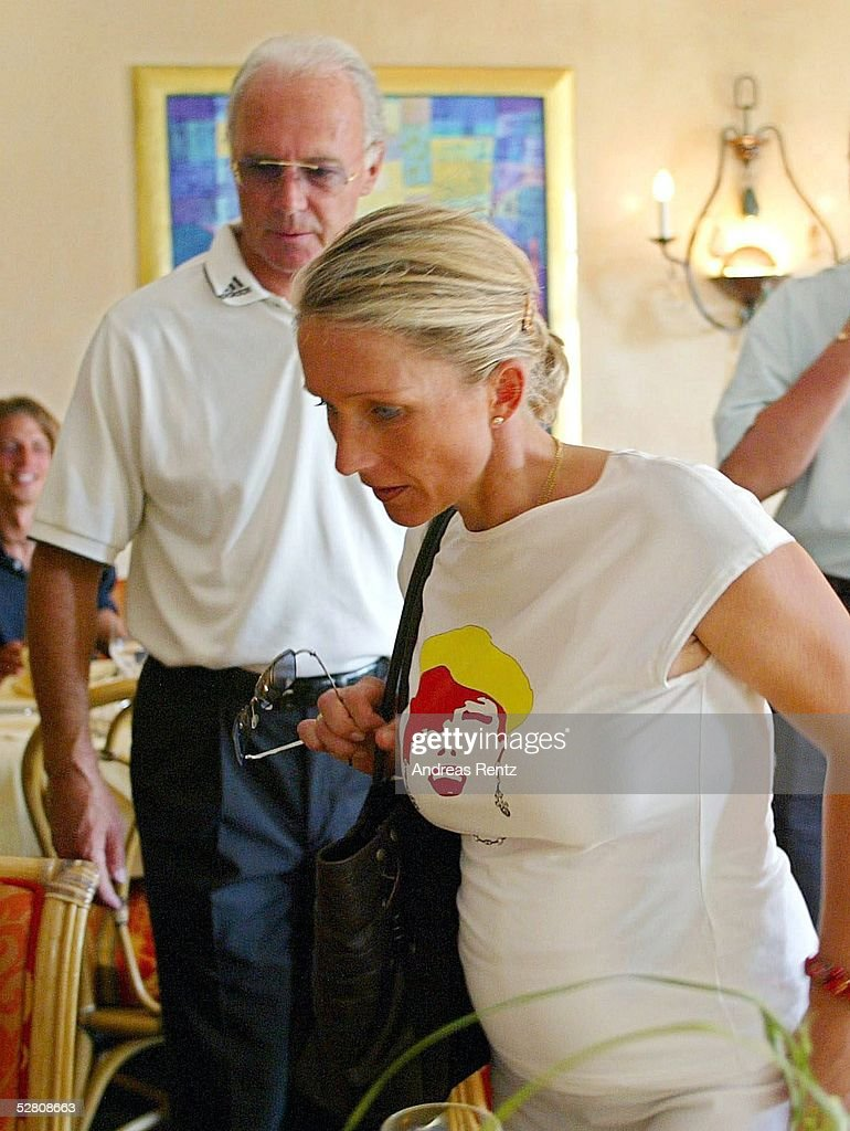Heidi Heidelberg golf rbu charity cup 2003 pictures getty images