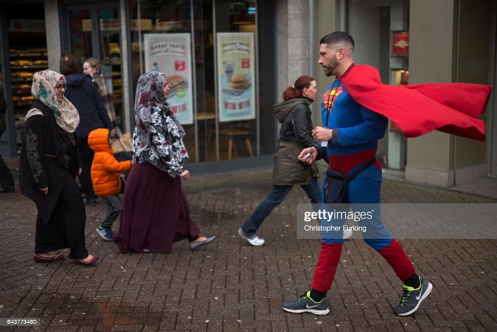 Last Day of Campaigning Before The Stoke By-election : News Photo