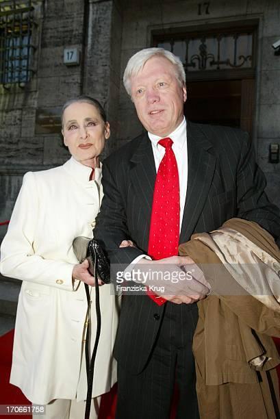 Charity Lady Irina Pabst Günter Struve Bei Der Party Von 25 Jahre Medienkontor In Berlin Am
