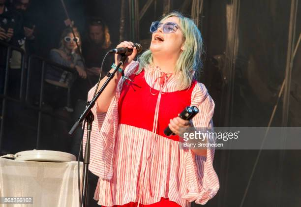 Charity Rose Thielen of The Head and the Heart performs during Voodoo Music Arts Experience at City Park on October 29 2017 in New Orleans Louisiana