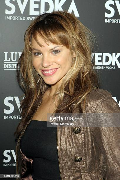 Charity Shea attends The 2006 Svedka Erotica Reading Series presented by Vanity Fair at Shag Hollywood on April 20 2006