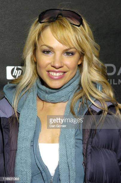 Charity Shea during 2006 Sundance Film Festival Alpha Dog Premiere at Eccles in Park City Utah United States