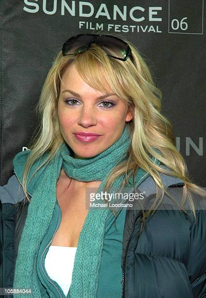Charity Shea during 2006 Sundance Film Festival Alpha Dog Premiere Red Carpet at Eccles in Park City Utah United States