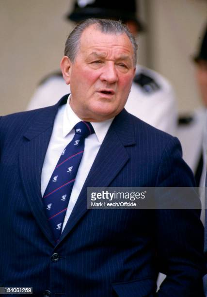 Charity Shield Football - Liverpool v Manchester United, Bob Paisley watches from the stands.