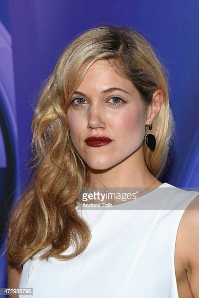 Charity Wakefield attends the 2015 NBC Upfront Presentation Red Carpet Event at Radio City Music Hall on May 11 2015 in New York City
