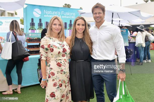 Charity Walden Saarah Samadani and Rusty Joiner attend New Bloom Media Presents 2nd Annual Bloom Summit at The Beverly Hilton Hotel on June 1 2019 in...