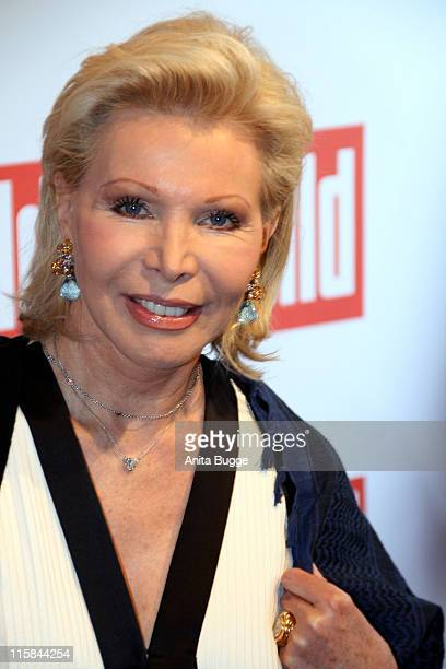 CharityLady UteHenriette Ohoven attends the Bild Summer Party on June 26 2008 in Berlin Germany
