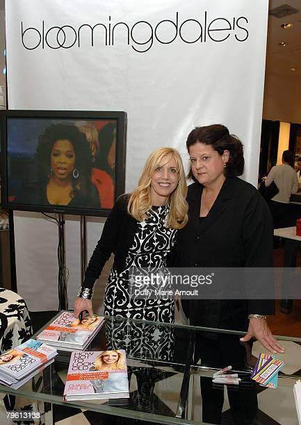 Charla Krupp and Senior VP of Bloomingdales Anne Keating during the seminar and book signing for her new book How Not to Look Old at Bloomingdales on...