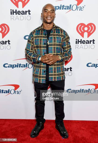 Charlamagne tha God arrives at the iHeartRadio Podcast Awards Presented By Capital One at iHeartRadio Theater on January 18 2019 in Burbank California