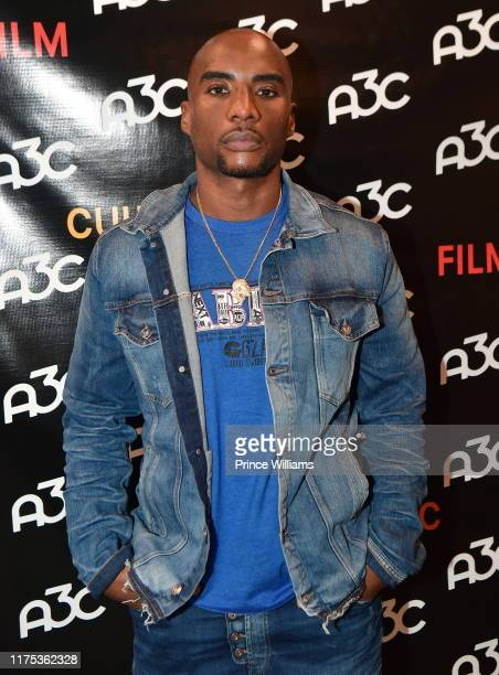 Charlamagne Tha god attends 2019 A3C Festival and Conference at Atlanta Convention center at AmericasMart on October 8 2019 in Atlanta Georgia