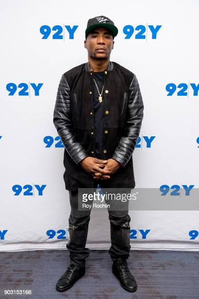 Charlamagne Tha God attends 92nd Street Y Presents Showtime's 'The Chi' at Kaufman Concert Hall on January 9 2018 in New York City